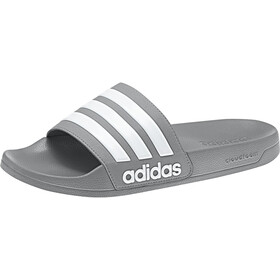 adidas Adilette Shower klapki Mężczyźni, grey three/footwear white/grey three